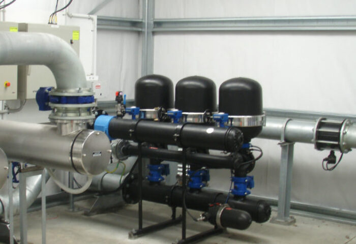 System pump station treatment