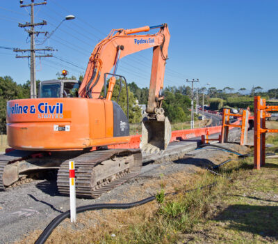 CLS watermain open cut highway Level 2 TTM