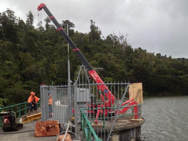 Upper Huia Dam Standpipe Replacement