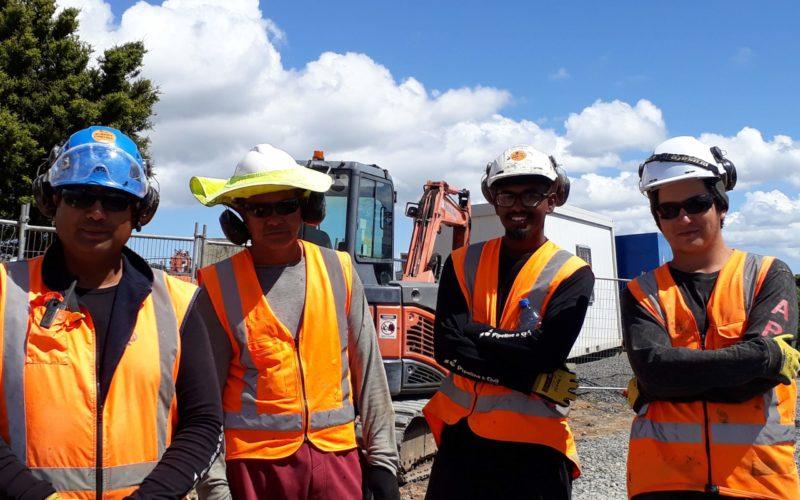 Albany Pinehill Watermain Crew