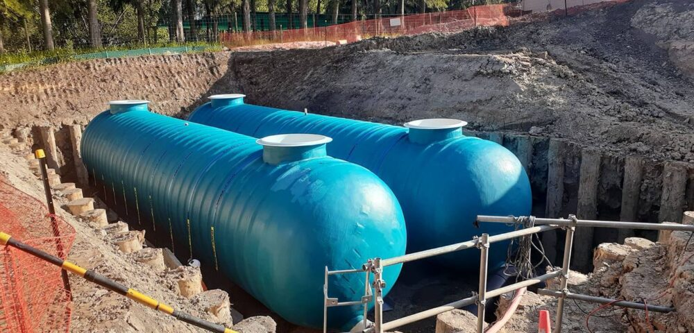 Redhills GRP Storage Tanks