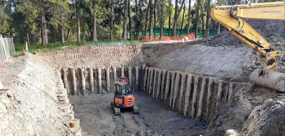 Redhills Storage Tank Excavation