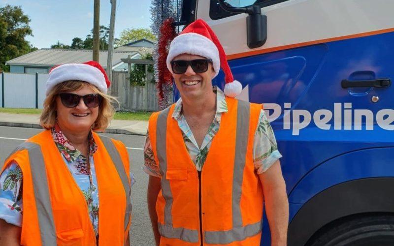 Northern Interceptor Christmas Parade Fletchers Pipeline Civil