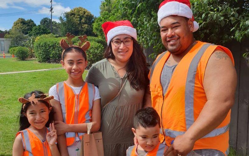 Christmas Parade NI team