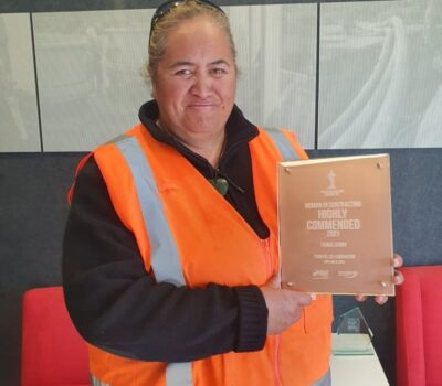 Fiona - Women in Construction - Highly commended