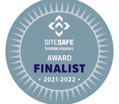 Award finalist badge